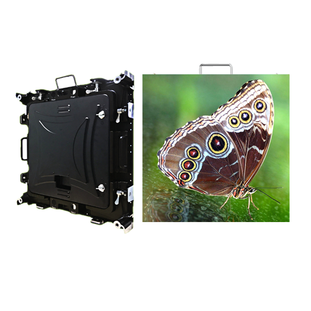 P4.8mm Outdoor 576x576mm Waterproof Rental LED Video Wall