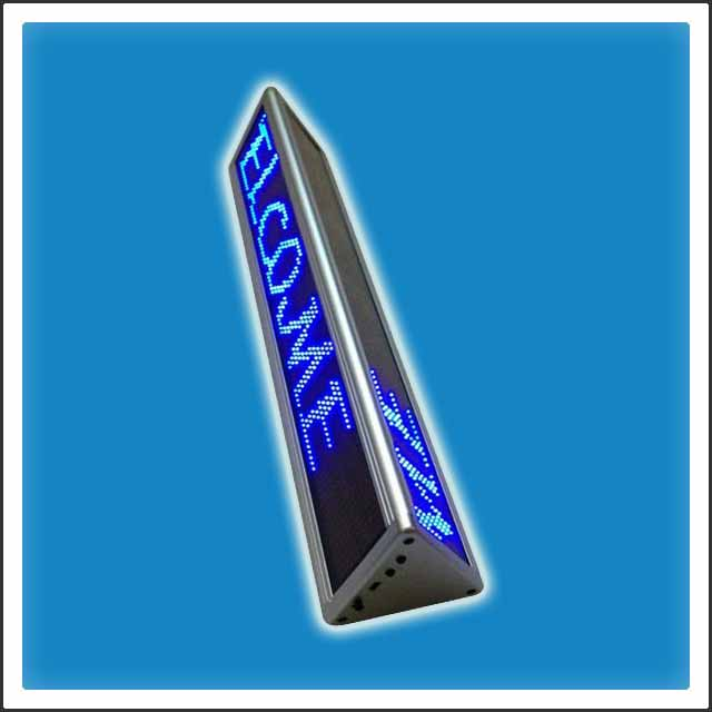 Programmable LED Meeting Room Name Sign Board