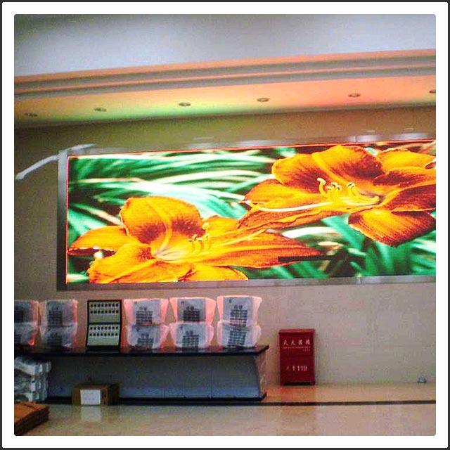 Indoor SMD P7.625mm Full Color LED Display Screen