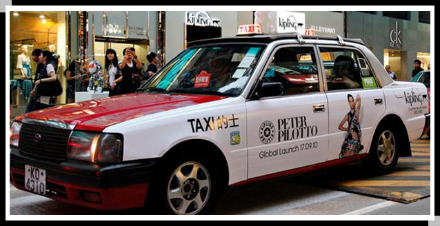 taxi body printing