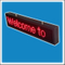 P10 160mm Height Outdoor Programmable LED Message Display Board